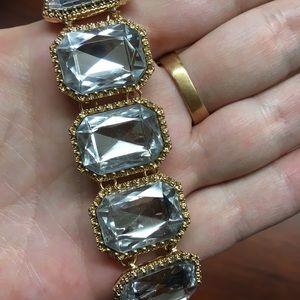 NWOT J. Crew Crystal Bracelet